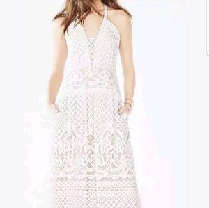 BCBG Christelle White Lace gown sz 6
